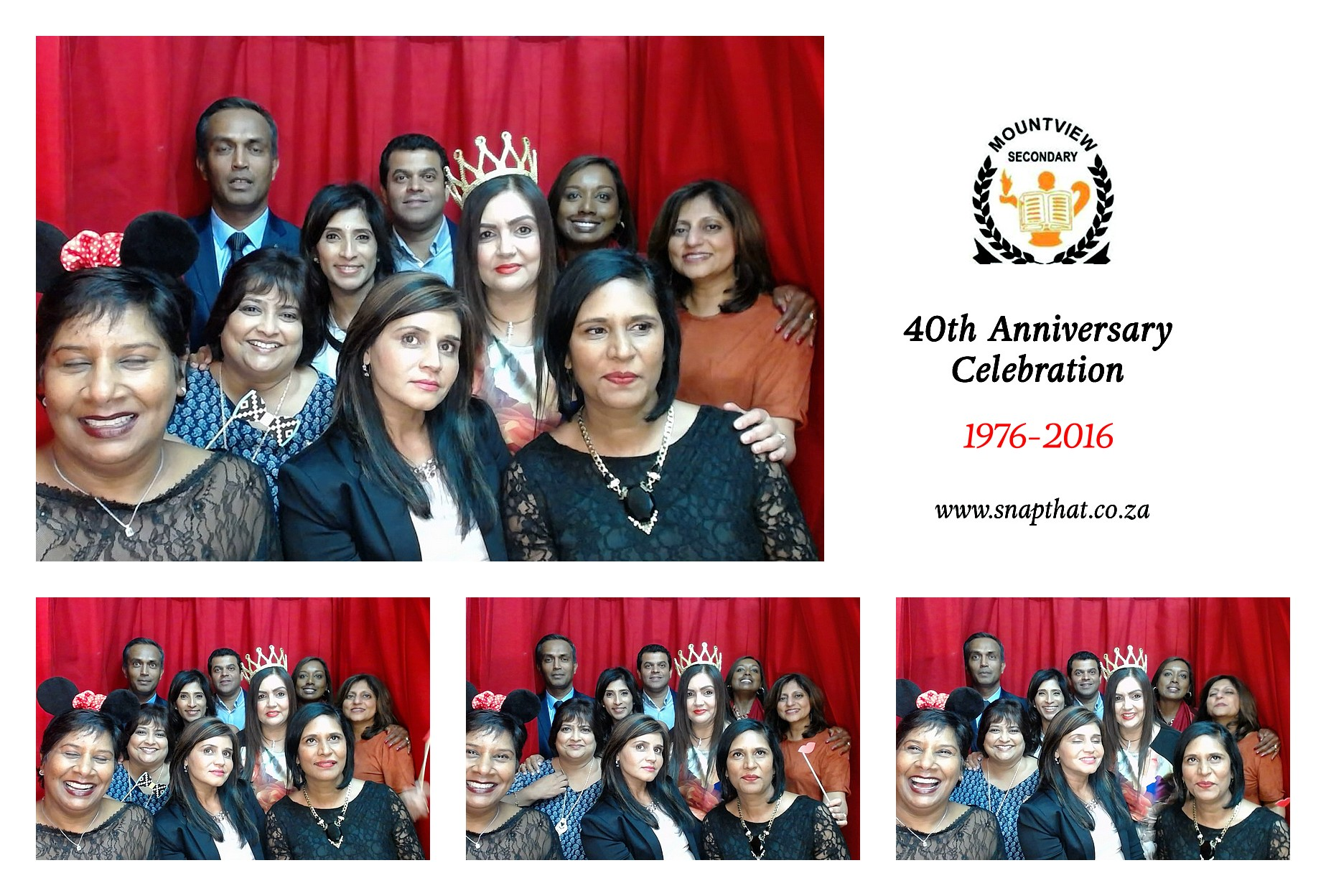 Mountview Secondary School: 40 Year School Reunion Photobooth