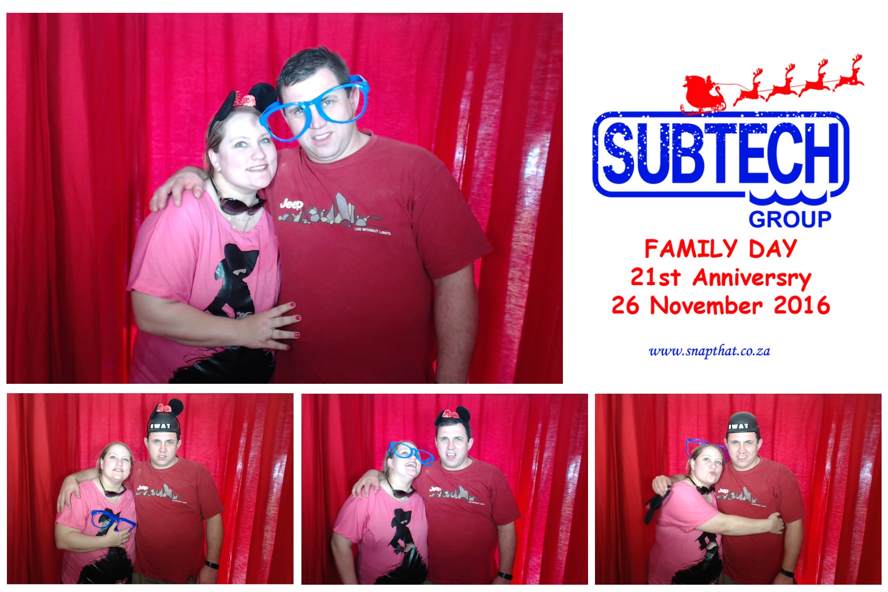Subtech Group: Family Day Photobooth