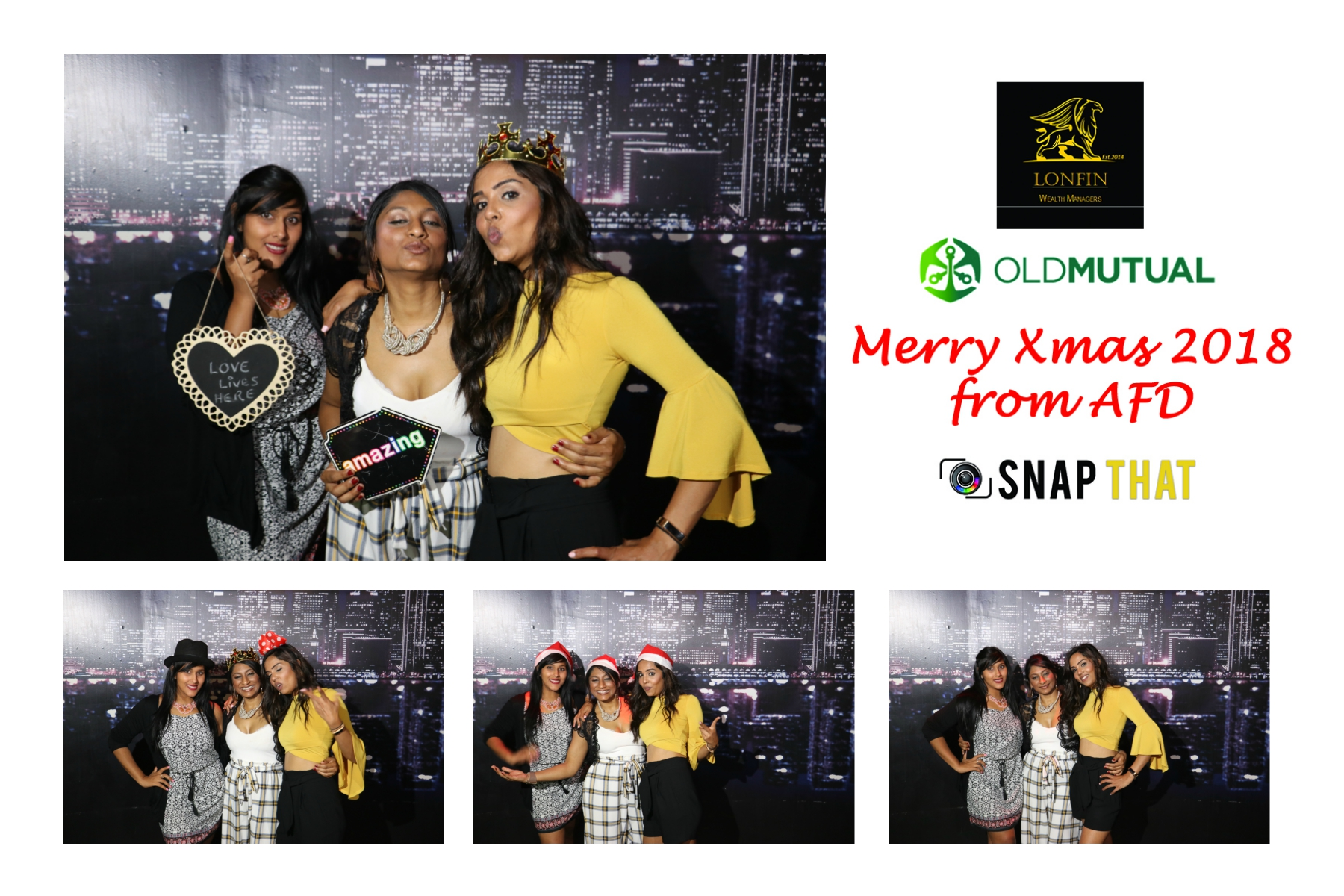 Lonfin Wealth Managers Photobooth