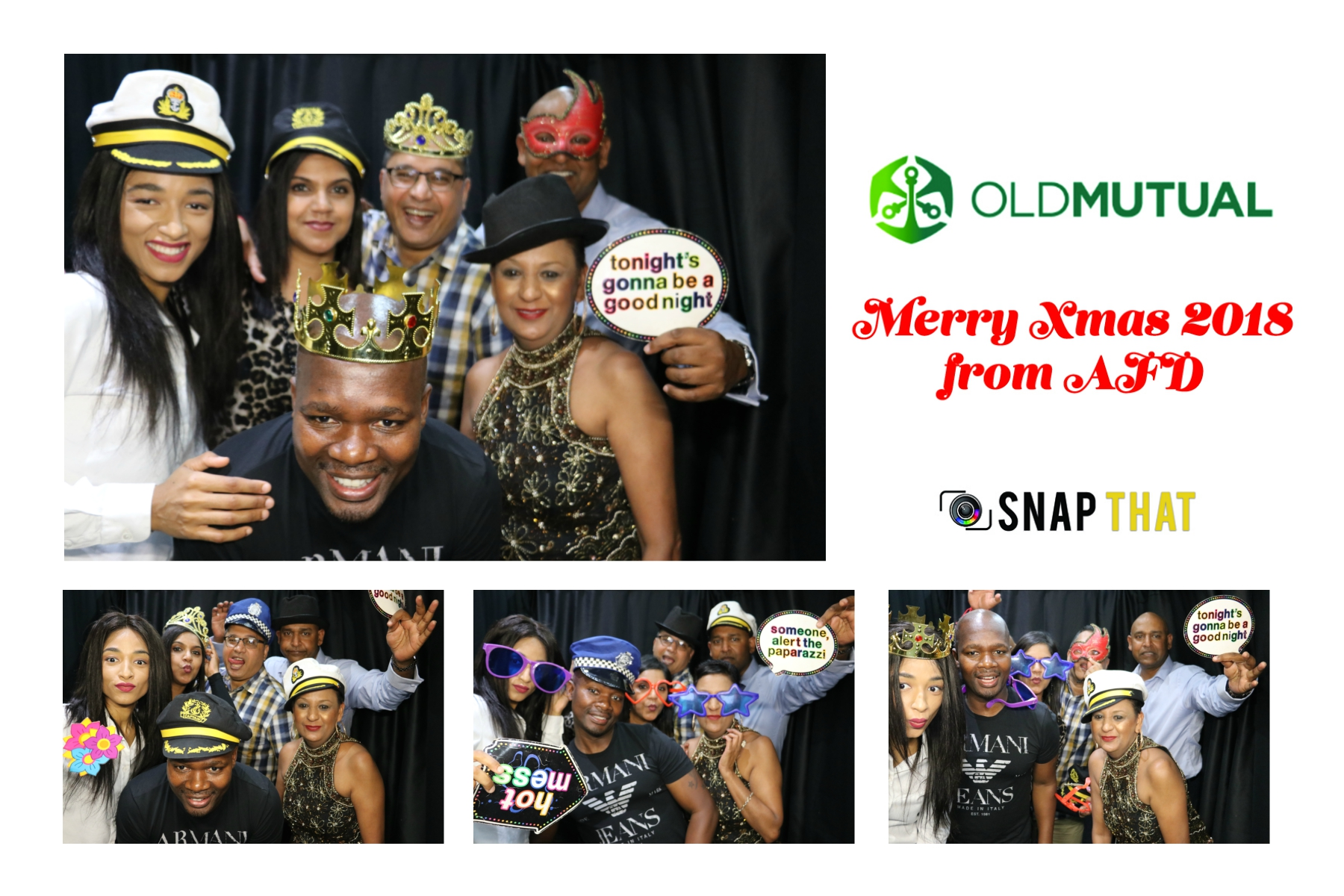 Old Mutual Photobooth