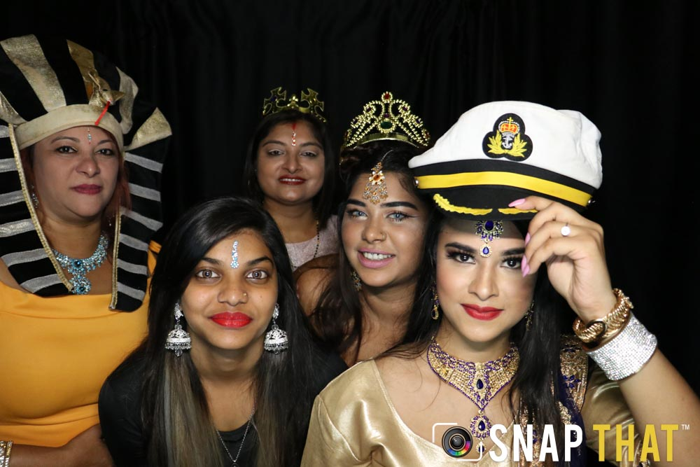 Shammi & Alakha Engagement Photobooth