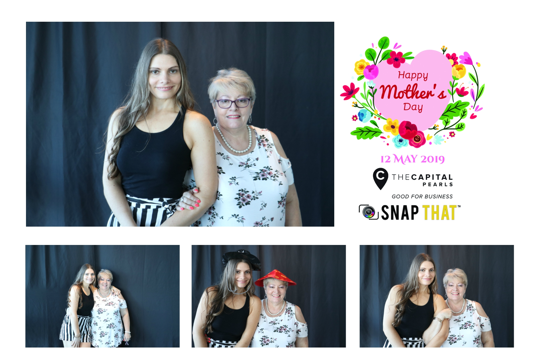 The Capital Pearls - Mother`s Day Photobooth
