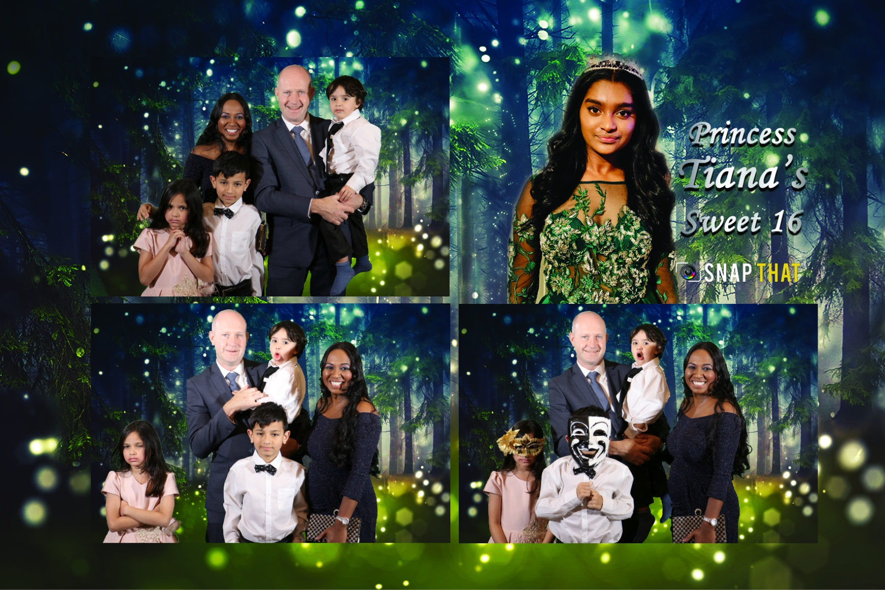 Tiana's 16th Birthday-Greenscreeen-Snap That