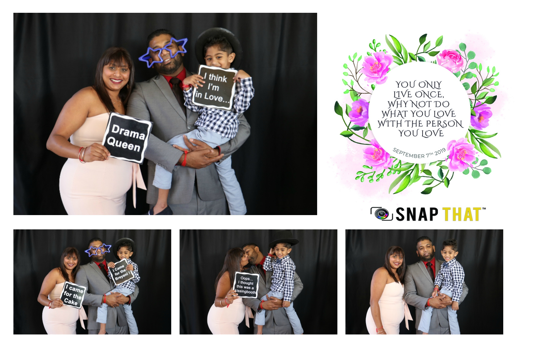 Kriben & Alicia Wedding Photobooth