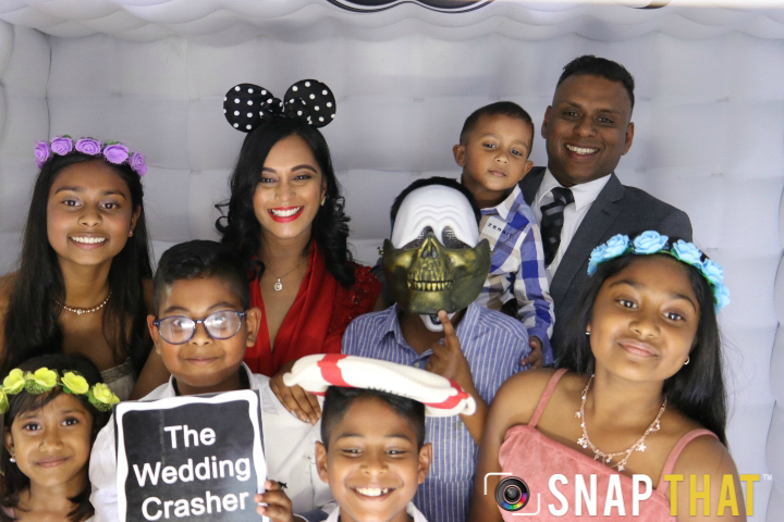 Jerome & Tasha Wedding Photobooth