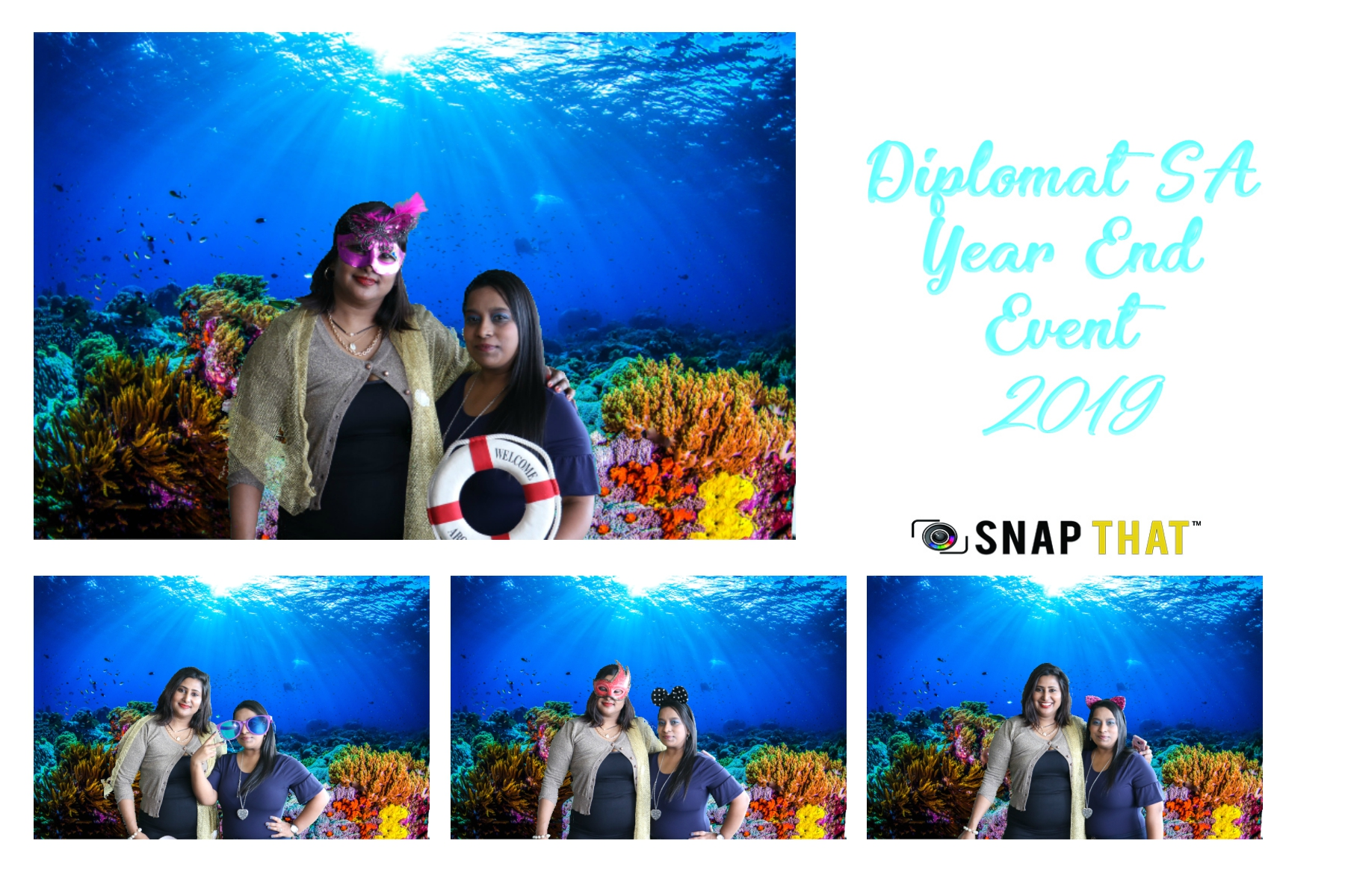 Diplomat SA Year End Photobooth