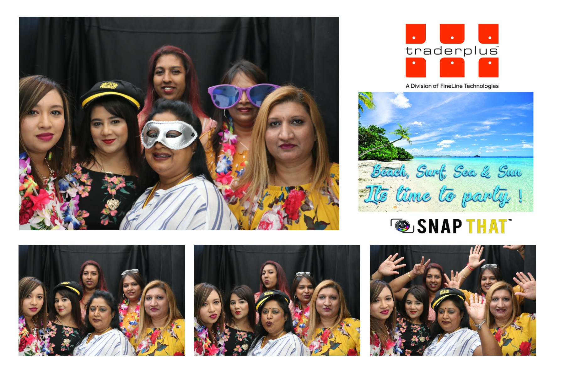 Traderplus Year End Photobooth