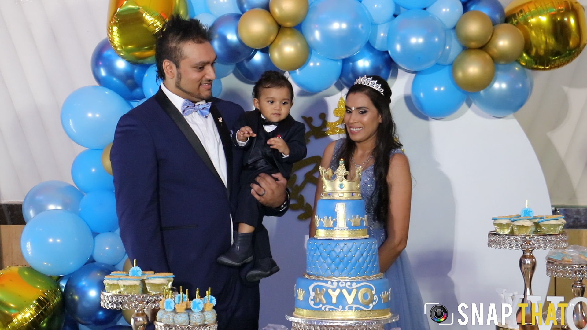Kyvo's 1st Birthday Highlights