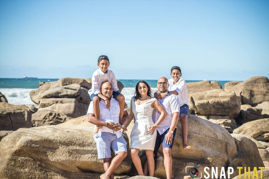 Family Photoshoot Durban by SnapThat